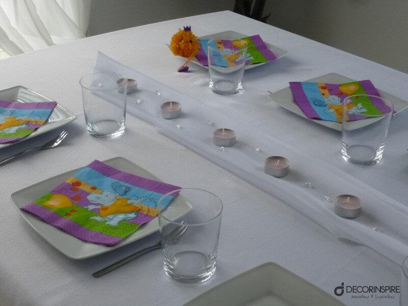 Dekoracja Stołu Na Urodziny Dziecka Chłopca Lub Dziewczynki