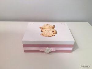 Drewniane pudełko nowy look