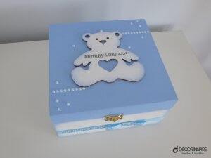 Ozdobne pudełko dla chłopca